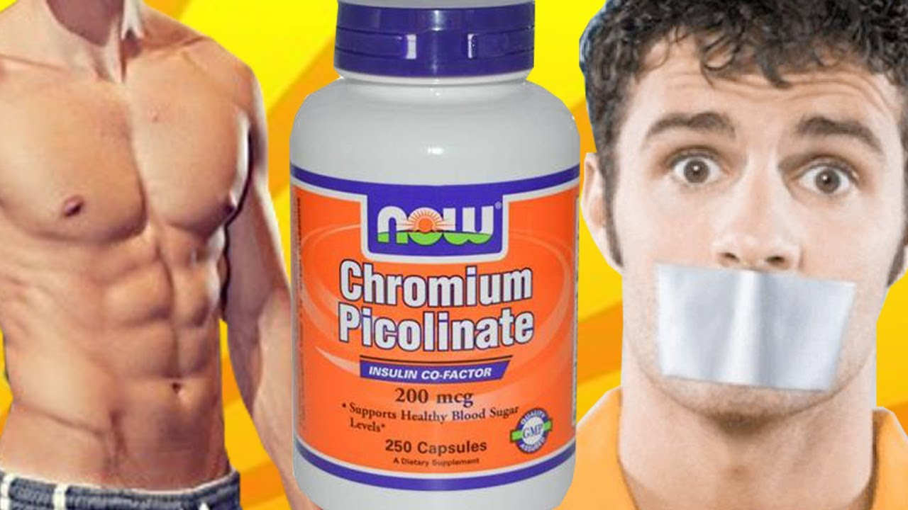 Picolinato de cromo para que funciona