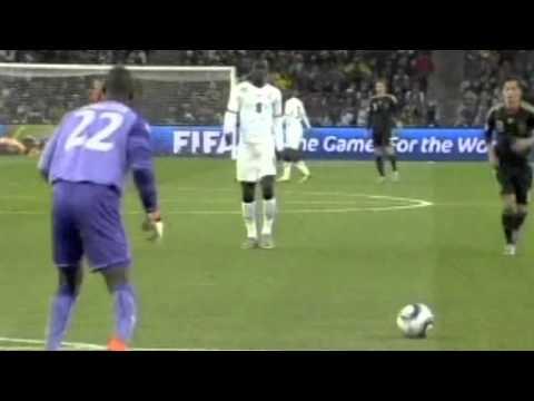 Goal Kick Technique