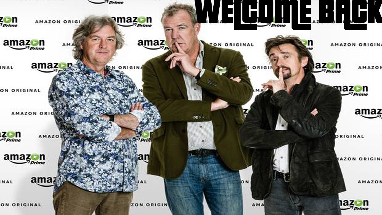top gear trio coming to amazon prime youtube. Black Bedroom Furniture Sets. Home Design Ideas