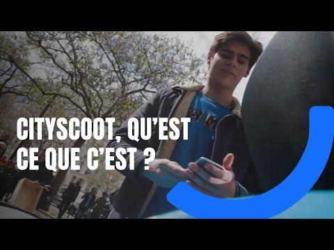 Cityscoot, qu'est-ce que c'est ?