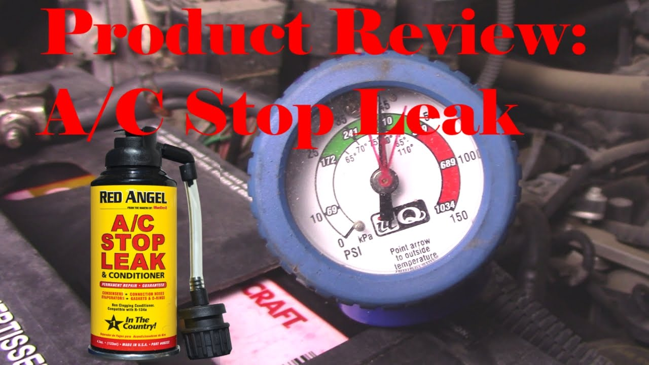 Auto Ac Stop Leak >> Product Review Red Angel A C Stop Leak Conditioner