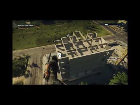 """""""Just Cause 4"""" featuring the best in game Easter Egg in history.. 