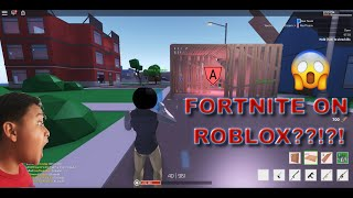 FORTNITE ON ROBLOX?!?!?!| PC GAMING| ROBLOX STRUCID (ALPHA)