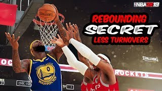 NBA 2k19 DEFENSIVE REBOUNDING  - LESS TURNOVERS - NBA 2k19 BEST DEFENSE -  2K19 DEFENSIVE SETTINGS