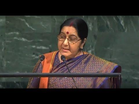 FULL SPEECH: EAM Sushma Swaraj