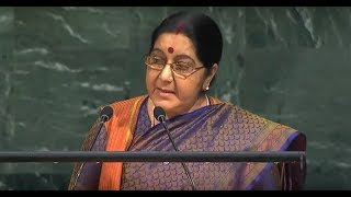 FULL SPEECH: EAM Sushma Swaraj's address at United Nations General Assembly
