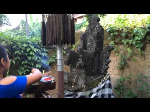 Bali Hinduism Offering - Daily Spiritual Practice