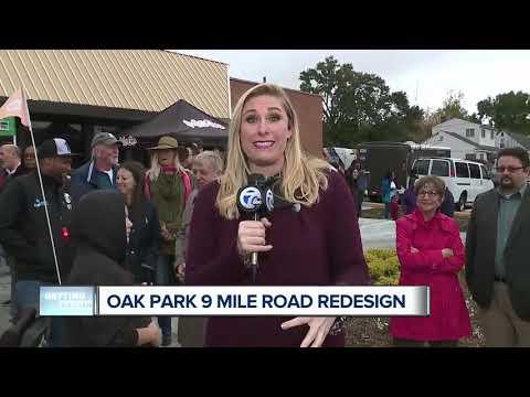 Oak Park 9 Mile Road Redesign