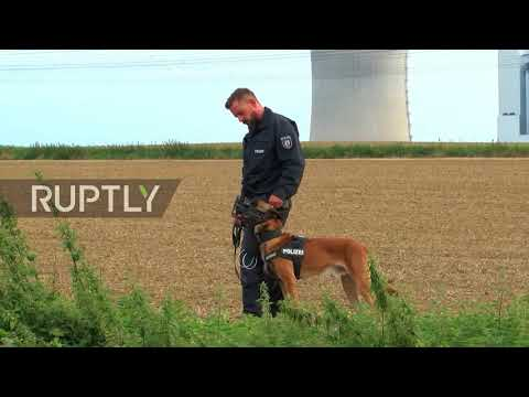 Germany: Anti-lignite protesters sit on train tracks, interrupting coal station operations