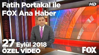 Emeklilikte yaşa takılanlar yeniden meclis'te! 27 Eylül 2018 Fatih Portakal ile FOX Ana Haber