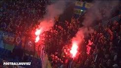 Pyro + Support - Sparta Prag auf Schalke (FC Schalke 04 - Sparta Prag 22.10.15)