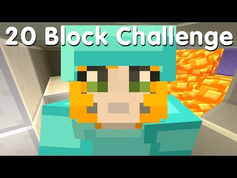 Minecraft PS4  20 Block Challenge  Music To My Ears 34