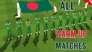Team Bangladesh - All Warm Up match Cricket World Cup 2019 - WCC2 Expert Mode World Championship