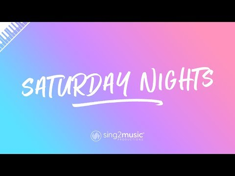 Saturday Nights (Piano Karaoke Instrumental) Khalid