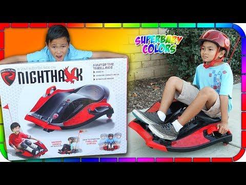 Rollplay Nighthawk Ride-On Power Wheels Unboxing from Walmart!