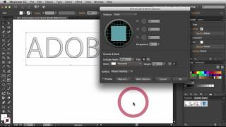 "Adobe Illustrator ""Bevel Emboss on Live Text"" NSL WEEK 221"