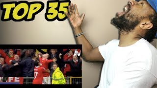 Top 35 legendary goals in football (soccer) history | epic reaction!