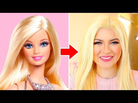 BARBIE MAKEUP CHALLENGE!