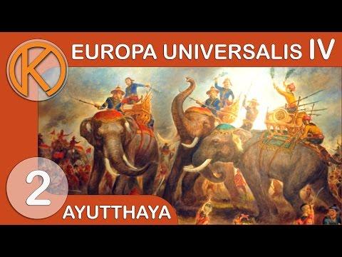 EU4 Mandate of Heaven - Ayutthaya   Vassal Swarm - Ep  2   Let's