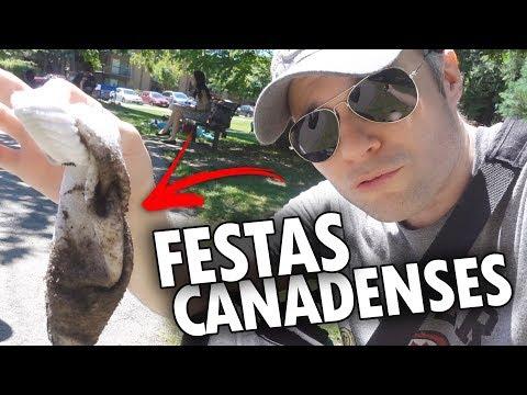 MOLHADOS NAS FESTAS TIPICAMENTE CANADENSES + VERÃO + CHURRASQUEIRA GRÁTIS - Vlog Ep.70