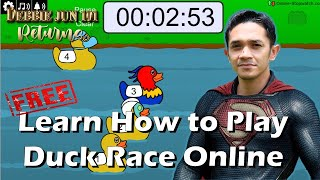 How to Play Duck Race Game Online | Tutorial Video