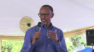 President Kagame speaks at the Children Christmas Party | Kigali, 4 December 2016
