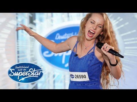 """DSDS 2019  Clarissa Schöppe mit """"Something's Gotta Hold On Me"""" von Christina Aguilera"""