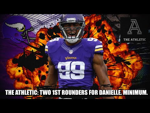 NFL TRADE RUMORS: [THE ATHLETIC] Two 1st Round Picks MINIMUM for Vikings to Trade Danielle Hunter