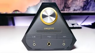 Creative Sound Blaster X7 DAC/Amp & E-MU XM7 Review