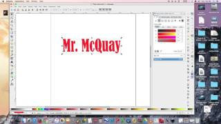 Inkscape intro part 1 - Name Project