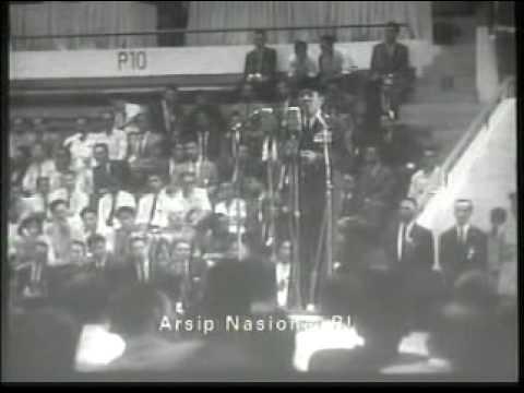 Pidato Soekarno di Front Perampasan Irian Barat