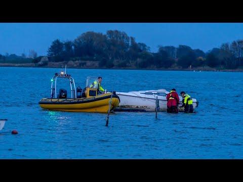 03.05.21 Mand i robåd hjalp nødstedt sejler i Skælskør nor