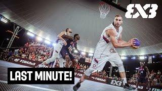Last Minute! - Team Serbia v Team USA in a Gold Medal Throw-Down - FIBA 3x3