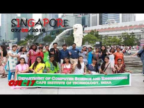 CAPE CSE SINGAPORE Trip and All INDIA Trip 2016