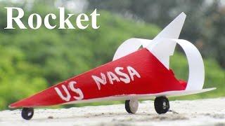 How To Make a Rocket - Paper Rocket - Space Rocket