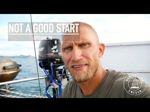 Not A Good Start - Ep. 98 RAN Sailing