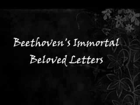 Beethoven's Immortal Beloved Letters  (Moonlight Sonata Mvt. 1)