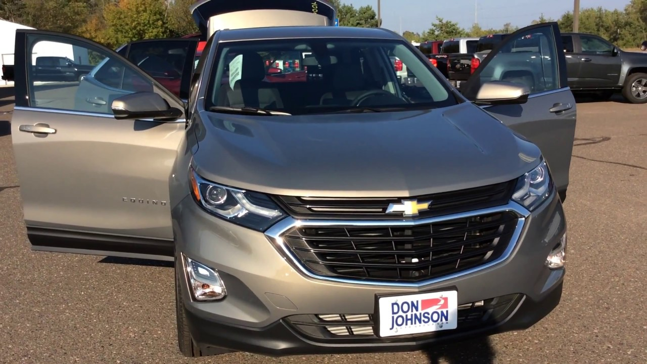 2018 chevrolet equinox awd lt pepperdust h18007 youtube for Don johnson hayward motors