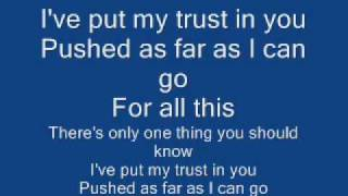 Linkin Park The Untitled (In The End Demo) With Lyrics