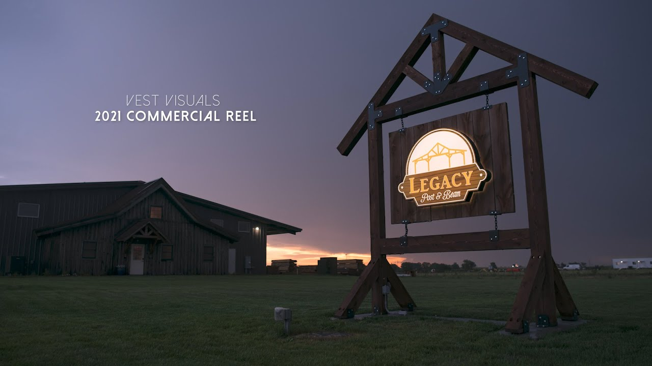 New Year, New Commercial Reel from Vest Visuals