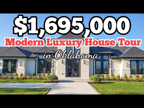 This is What $1 Million Buys You in Oklahoma   Modern Luxury House Tour 2020