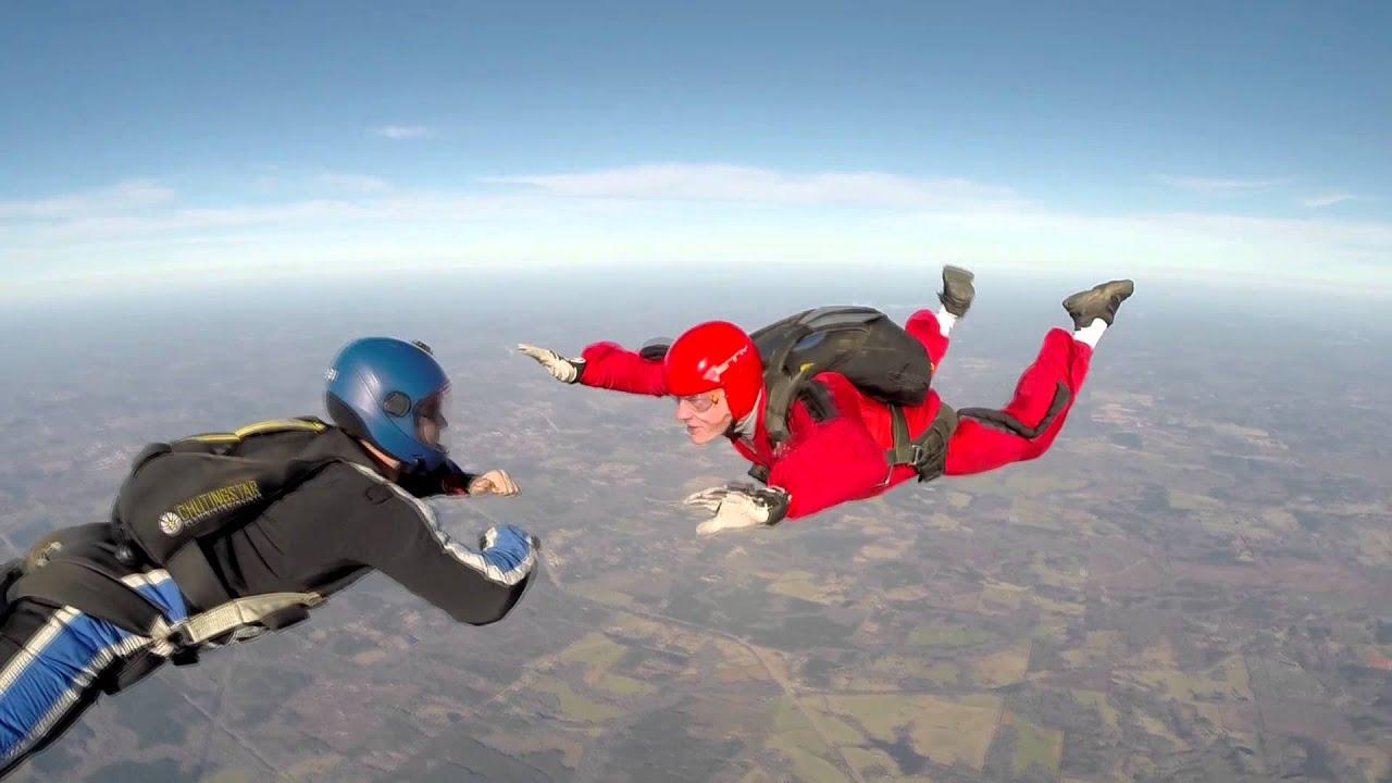 Solo skydiving certification at Skydive Atlanta