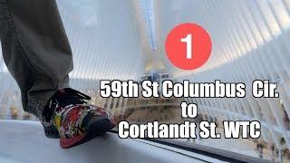 1 59th St Columbus Cir to Cortlandt St WTC