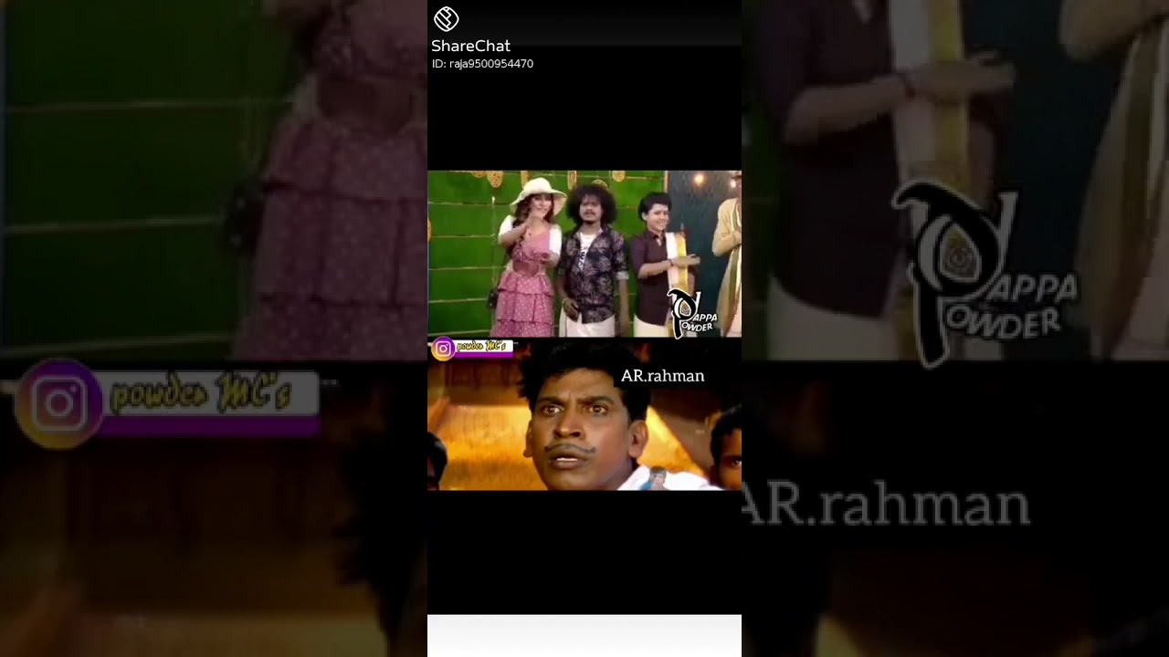 funny comedy What's app status video song in tamil