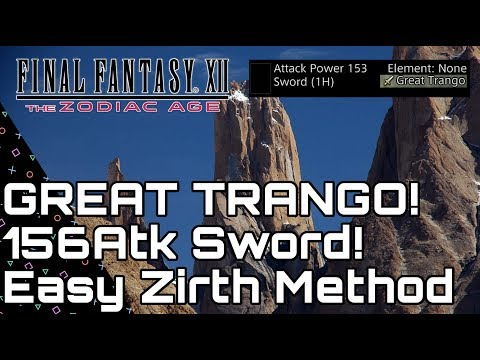 Final Fantasy XII The Zodiac Age AFK Leveling Spots