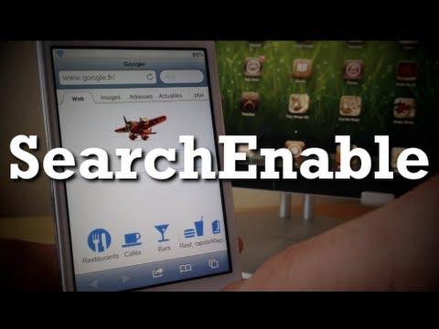 Rechercher sur le web avec Siri