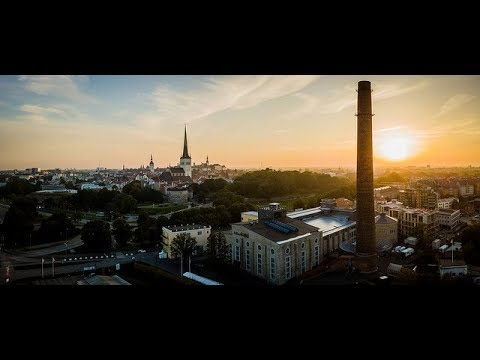 Tallinn Digital Summit set up time-lapse