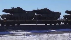 Military Equipment Moving East - 11/13/2018