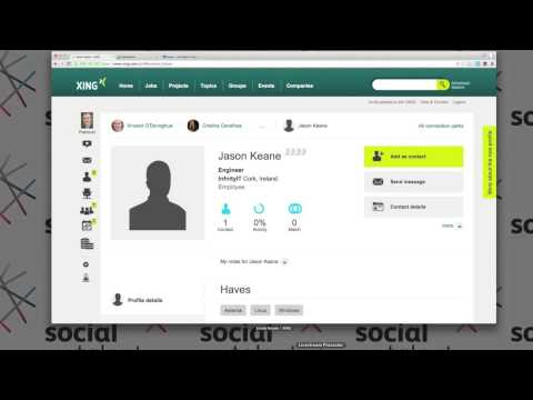 How to recruit using Xing and Viadeo