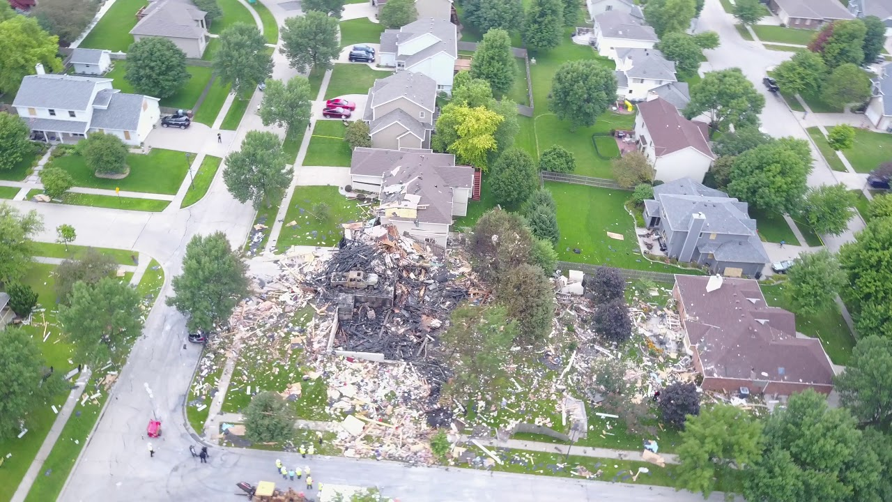 Funny Video: House Explosion Aftermath